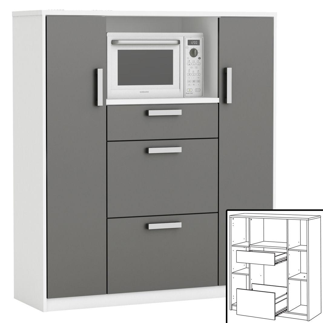 Mehrzweckschrank 8540 Kuchenschrank Mikrowellenschrank Schrank