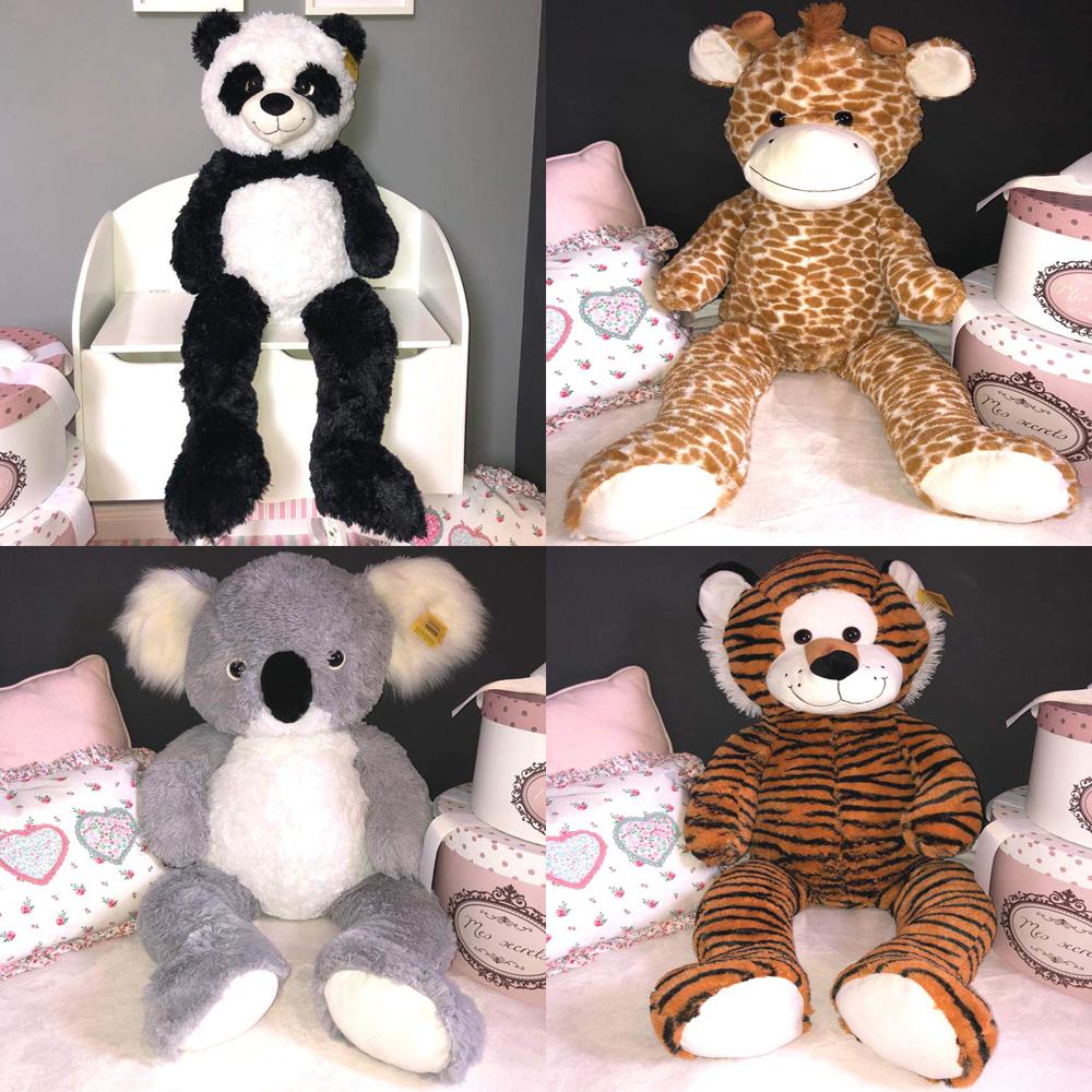 XXL Kuscheltier 1m Tiger Panda Giraffe Koala Stofftier